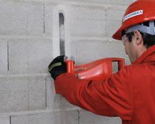 máy phay đục rãnh tường đi đường ống