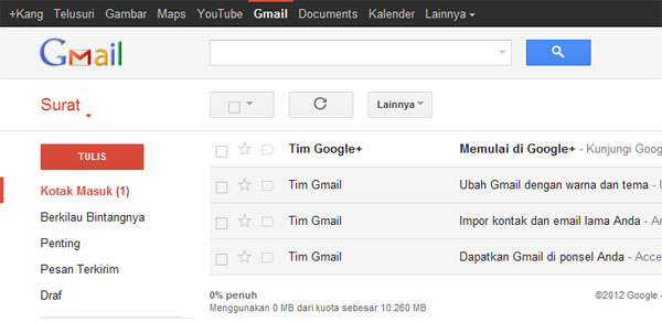 baca email gmail