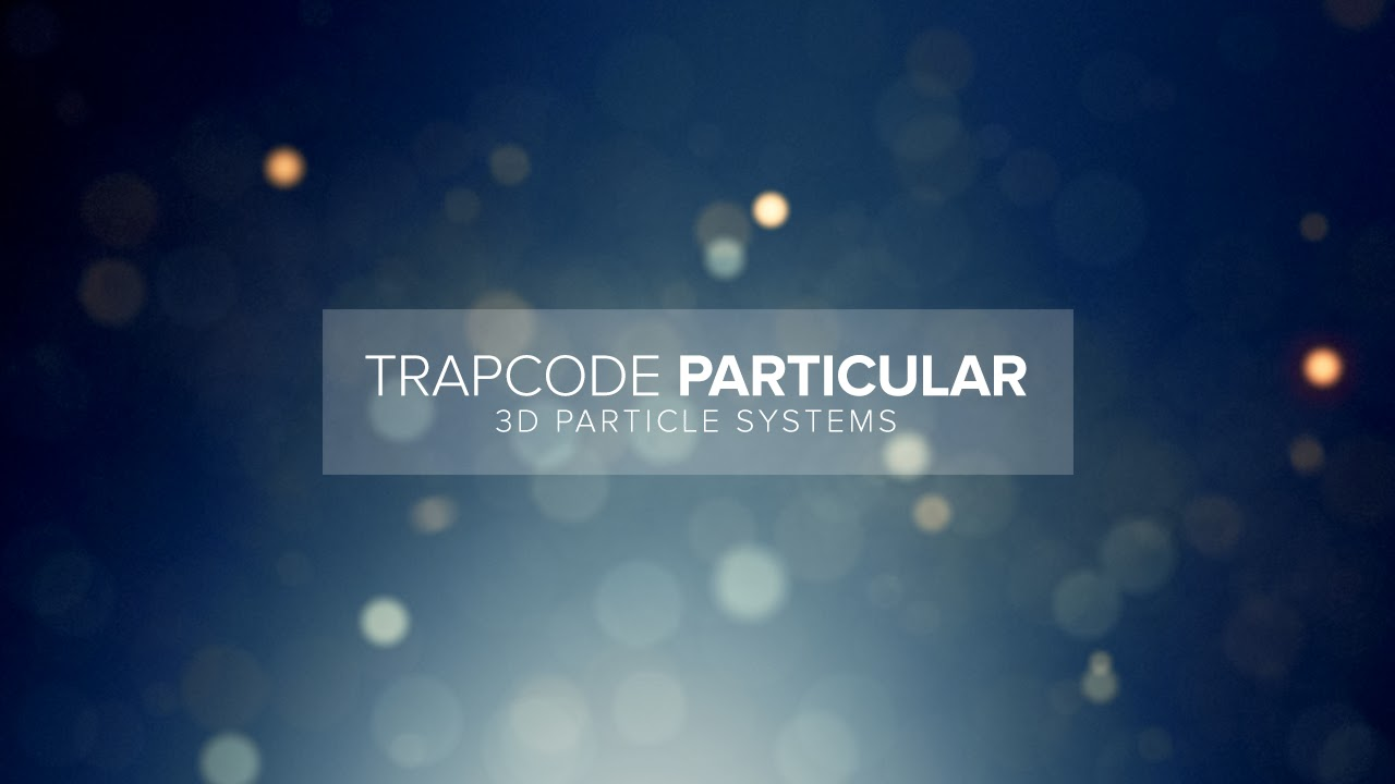 Free Download Trapcode Particular Full Key Gratis Download