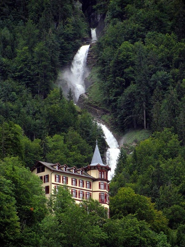 Giessbach Waterfalls, Switzerland