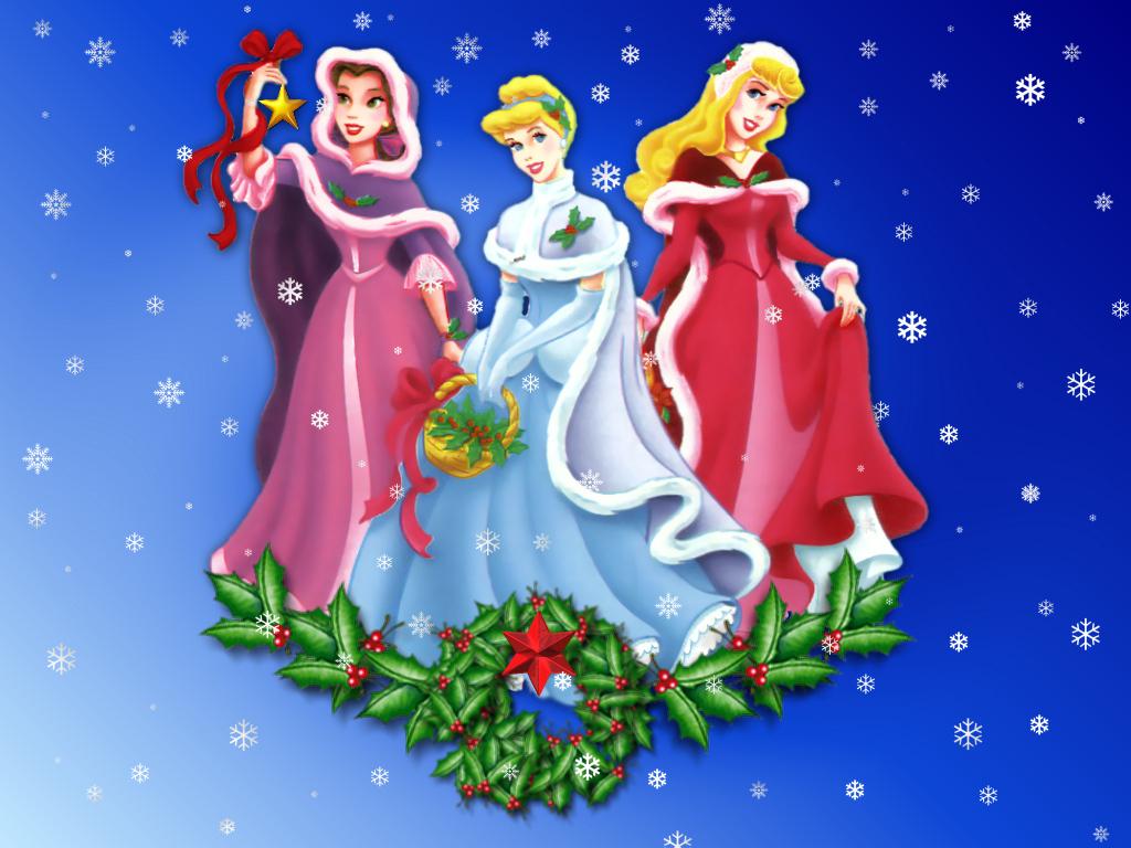 disney princess christmas baubles