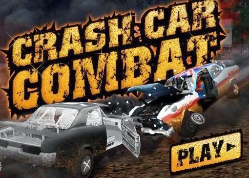 لعبة معركة السيارات  Crash Car Combat 3d اون لاين