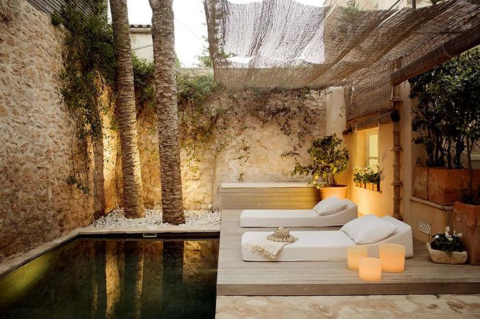 Estilo rustico hotel rustico en mallorca for Patios rusticos