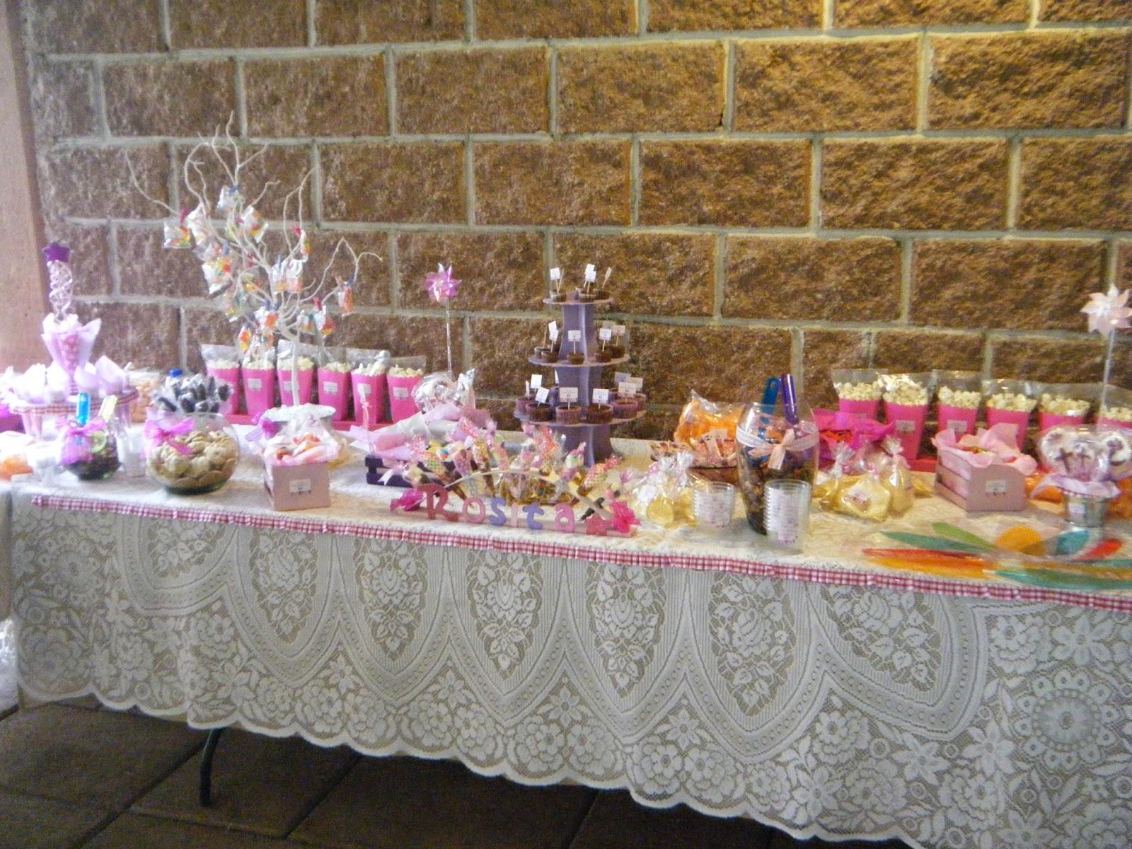 Creaciones d anna mesas de dulces - Mesas dulces para ninas ...