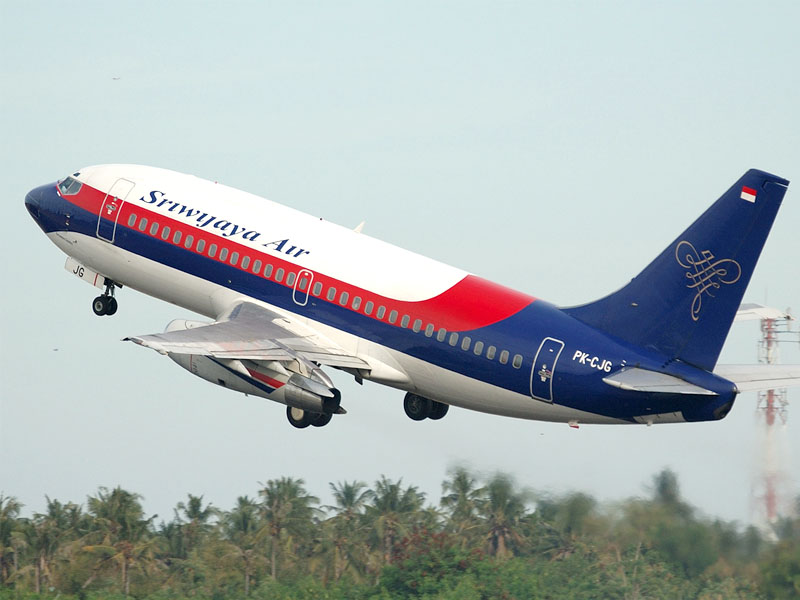 The airline Sriwijaya Airlines (Sriwijaya Airlines). Official sayt.2