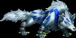 imagen del monstruo wolfkami de monster legends