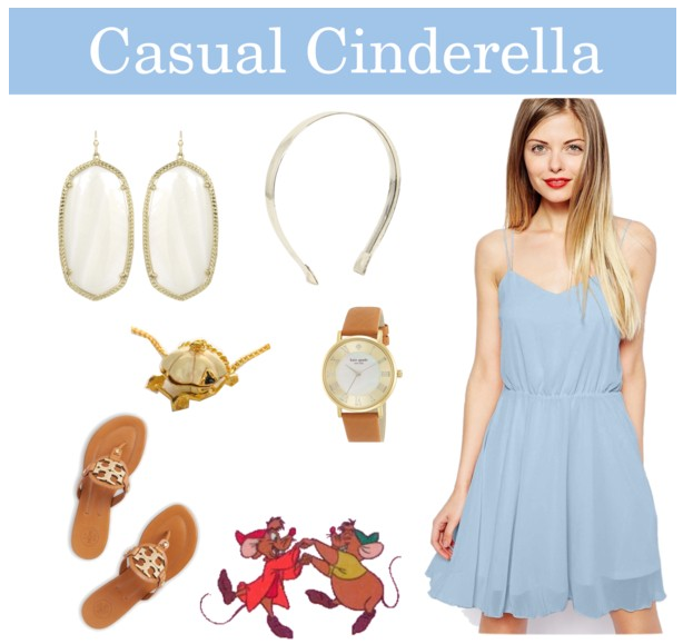 Cinderella theme outfit