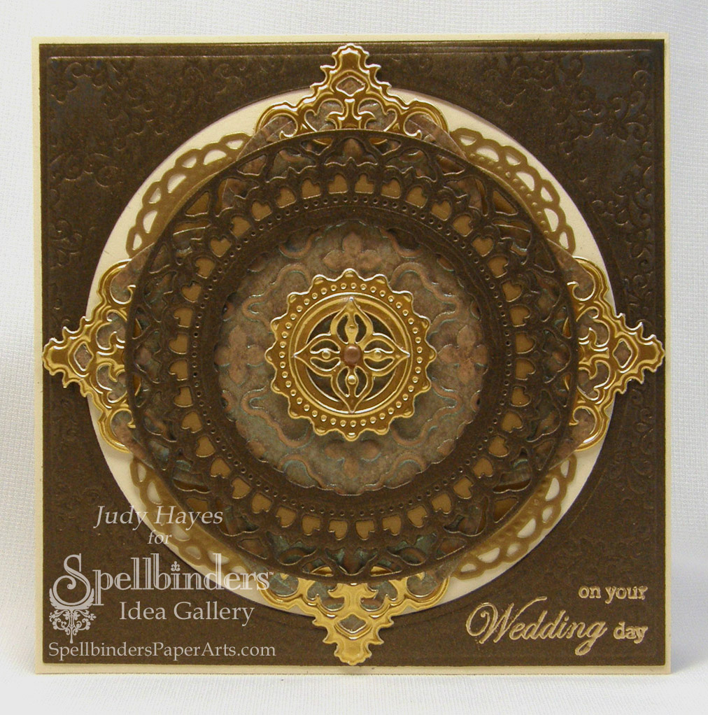 Creating...My Style: Splendid Circles Wedding Card