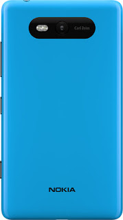 Nokia Lumia 820 rear