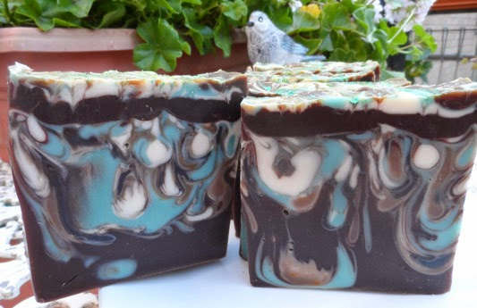 Chocolate-Mint Drop Swirl