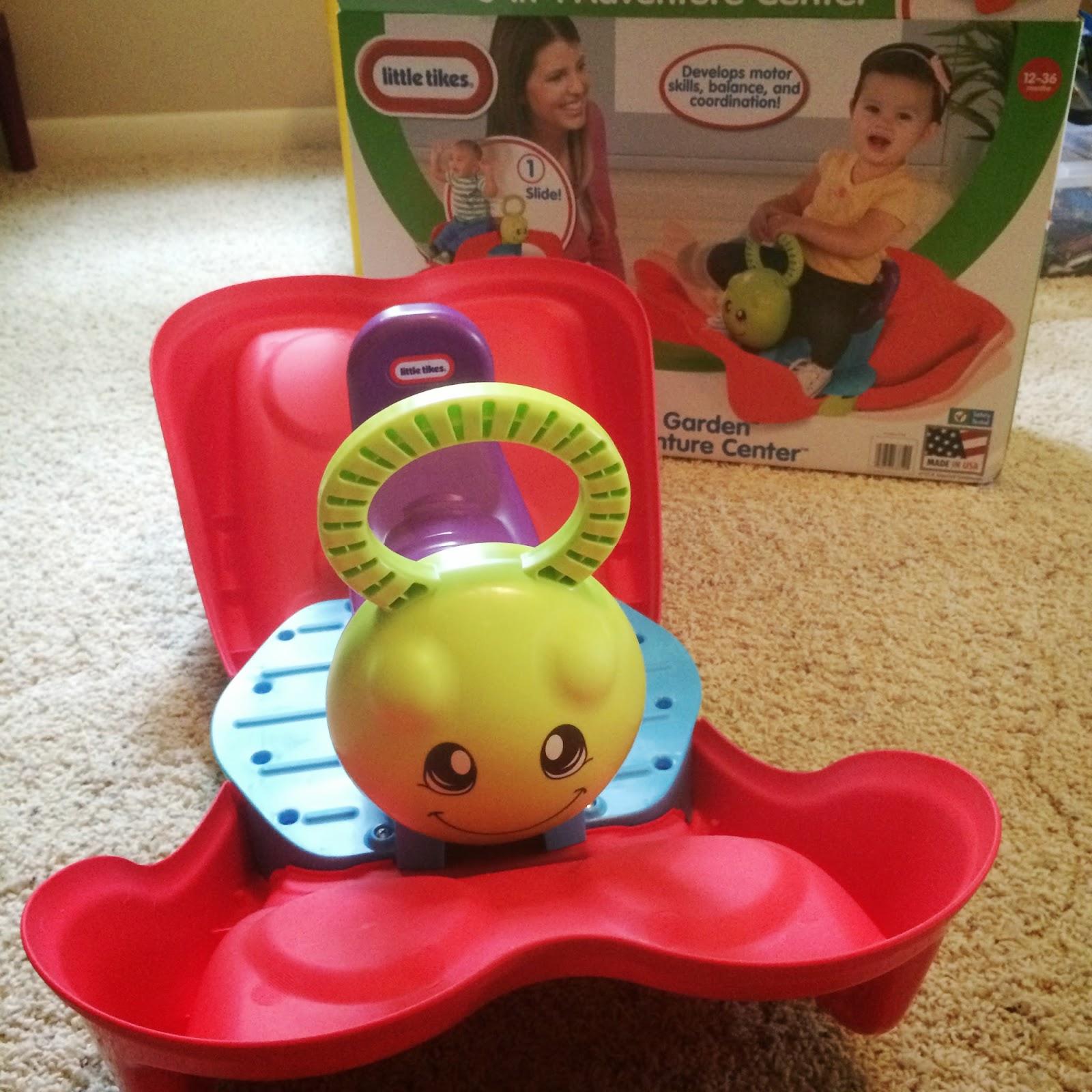Little Tikes Activity Garden 3 In 1 Adventure Center Toy Review Teamlittletikes Sahm Plus