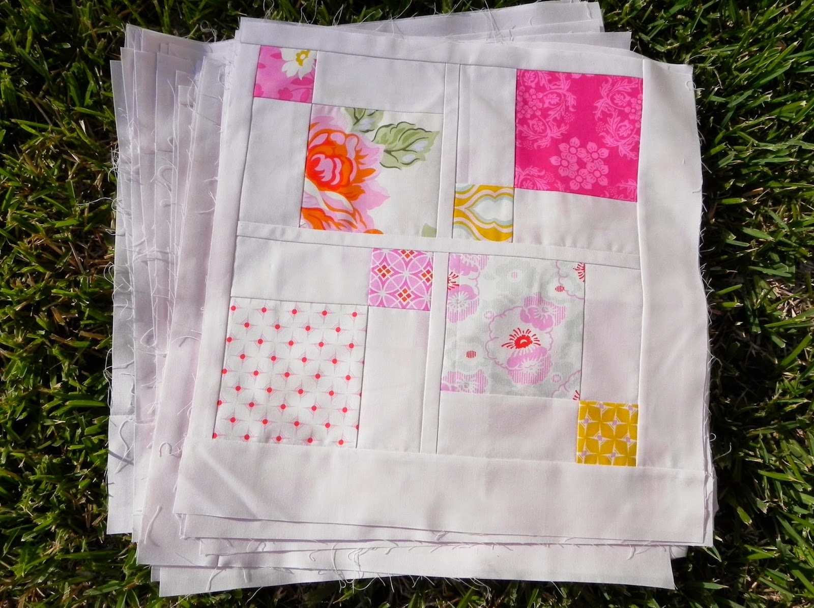 the confused quilter: Fabulous Friday Finish! Impromptu --