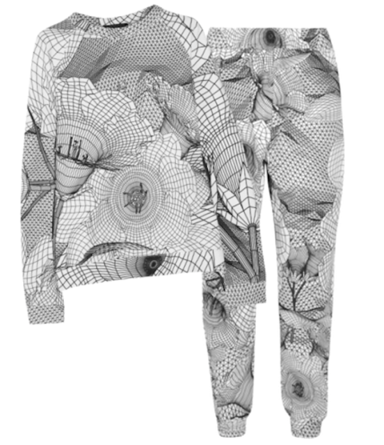 Christopher Kane printed sweatfit