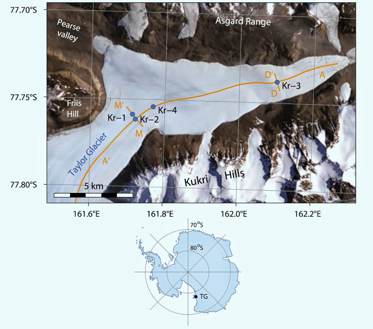 dating antarcic meteorites