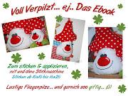 ♥Voll Verpilzt Ebook mti Stickgesichtern ab 10x10