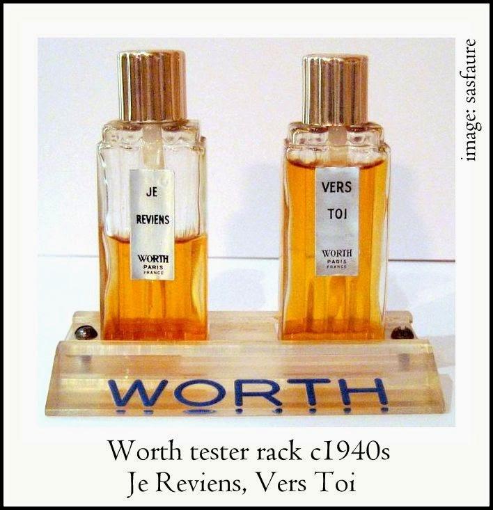 Perfume Tester Display: Worth Perfumes