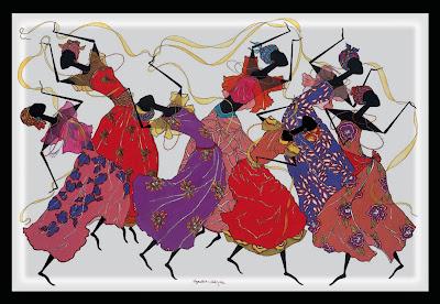Cuadros Al Oleo De Mujeres Africanas Cuadros De Pintura Decorativa