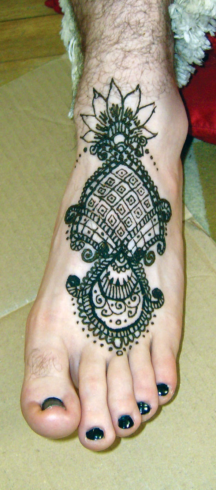 The Blue Fairy Henna On The Fly