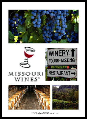 Missouri Wines Collage