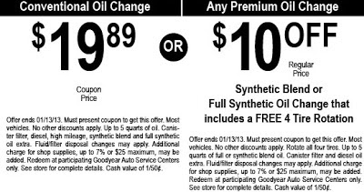 Best Oil Change Deals 2