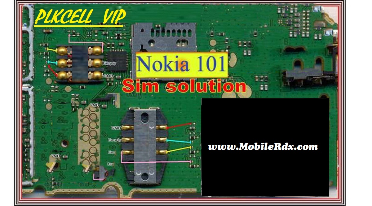 Nokia 100 Insert Sim Solution