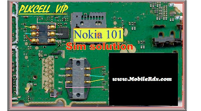 Nokia 100/101 Insert Sim Card Jumper Solution