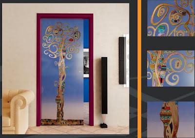 puerta de interiores moderna