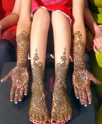 Best Indian Mehndi Designs