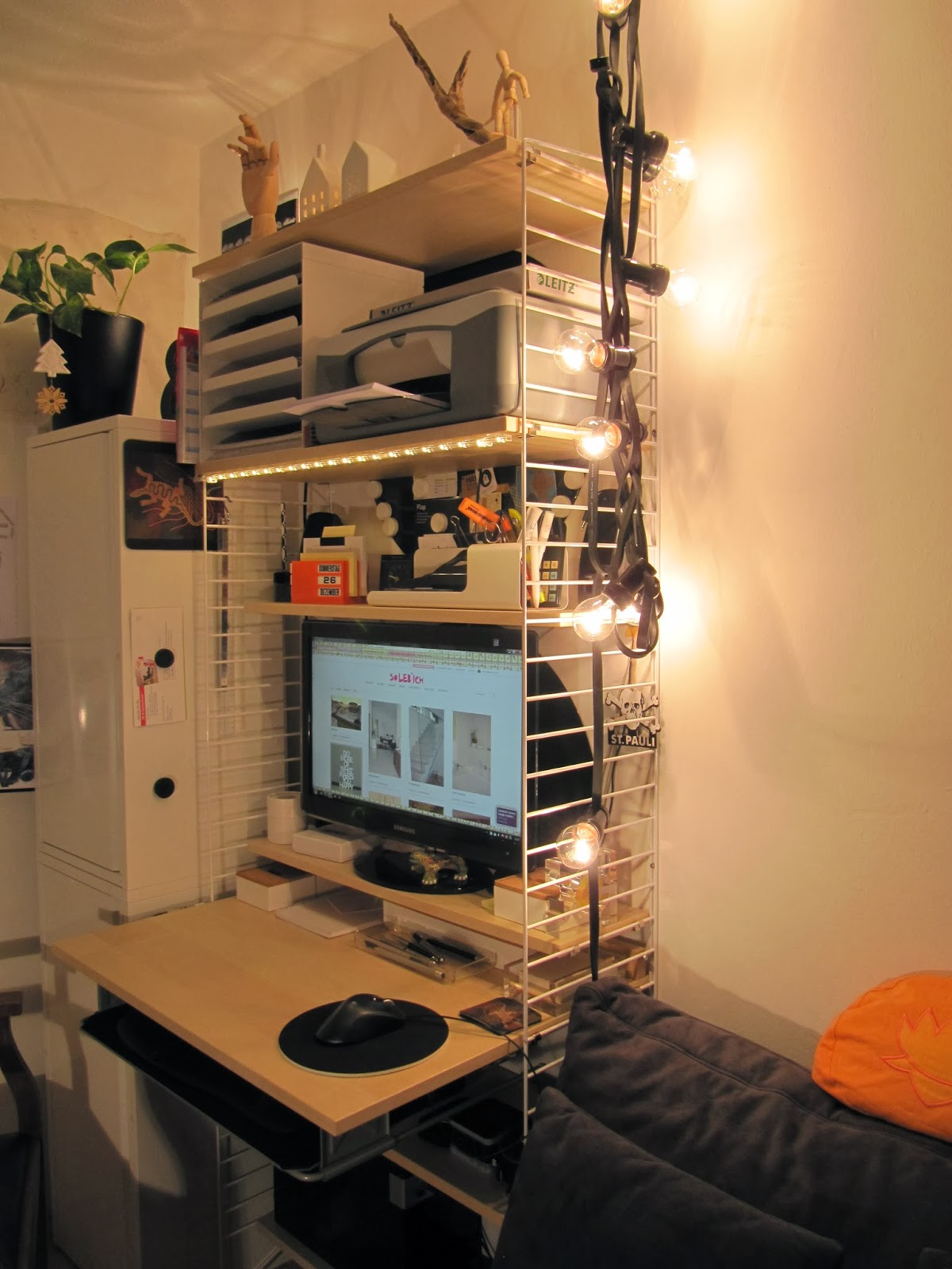 my home me with sadiy mein neues home office. Black Bedroom Furniture Sets. Home Design Ideas