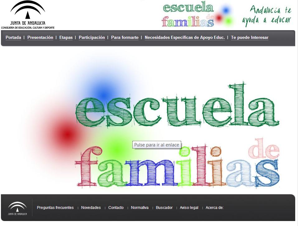 Portal Escuela Familias