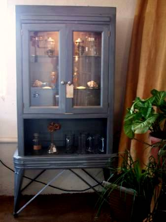 bookcase garden cfad free industrial product with single home hutch style ladder