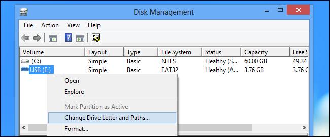 Assigning the Drive (memberikan atau mengganti Letter Drive agar bisa di buka dari Windows Explorer)