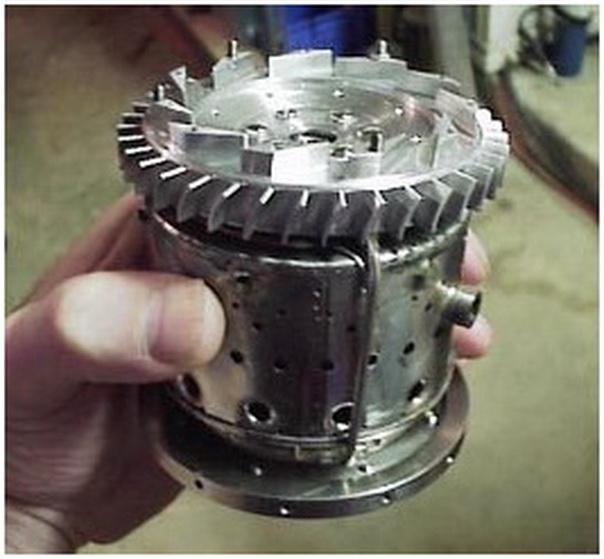 Mini Turboprop Engine: Mesin Jet Mini,roket Mini,elektronika