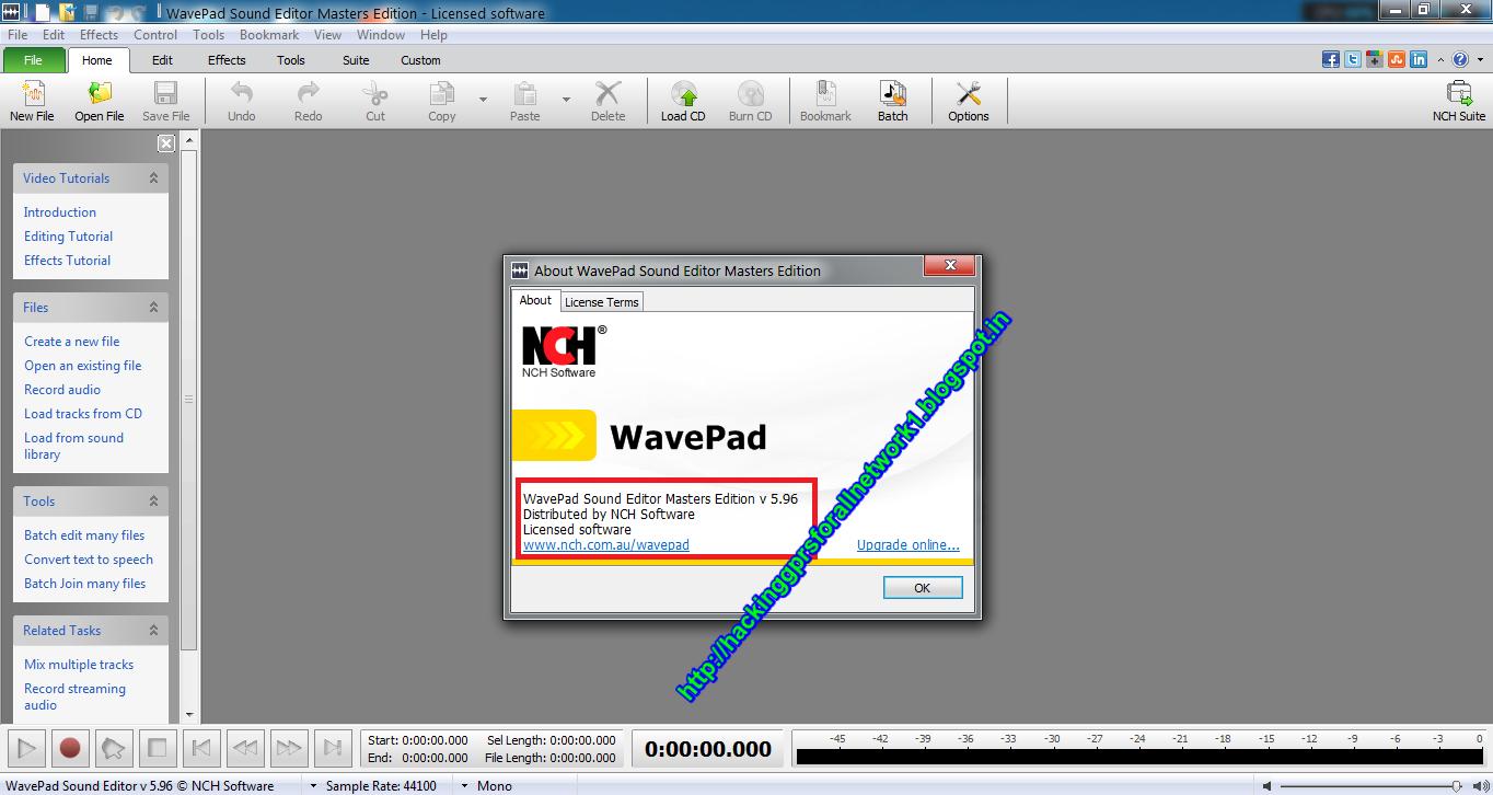free wavepad for windows 7