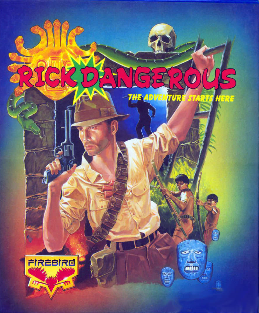 Frgcb finnish retro game comparison blog rick dangerous rainbird rick dangerous rainbirdmicroplay 1989 malvernweather Image collections