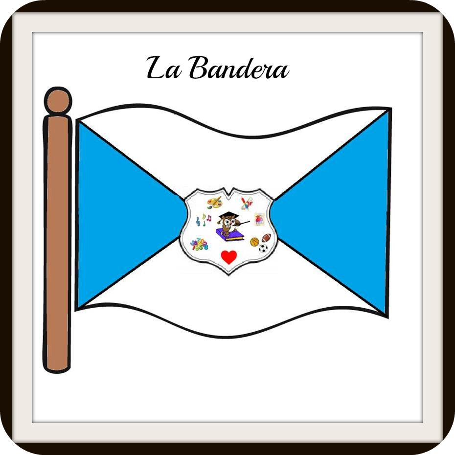 Jardin infantil construyendo con gardner escudo bandera for Banderas decorativas para jardin