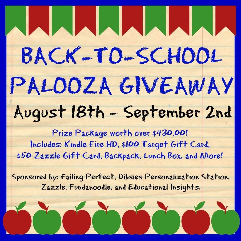 Back-to-School Palooza Giveaway