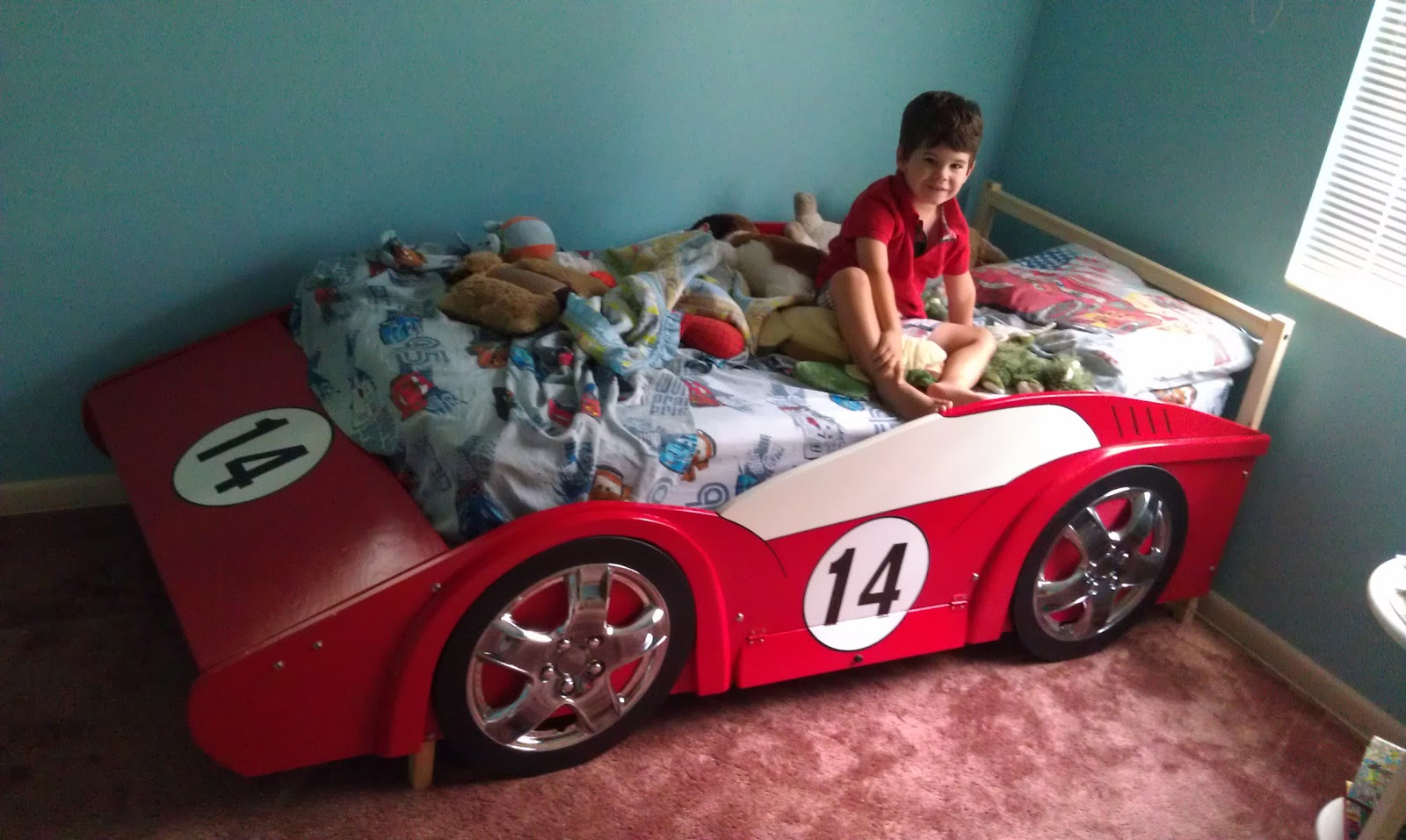 Race Car Bed Build It Yourself Race Car Bed