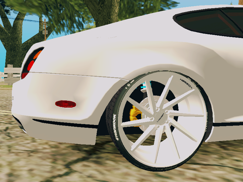 GTA SA - Bentley Continental Supersports Vossen CVT