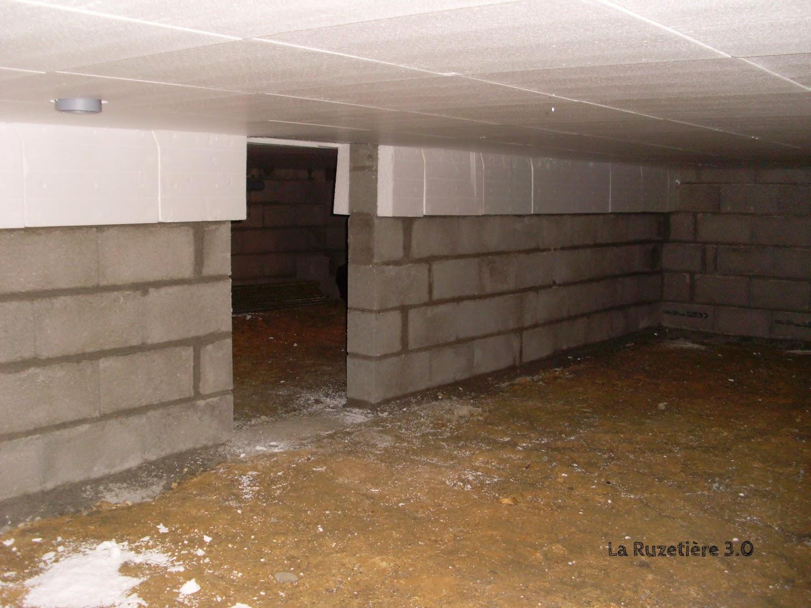 La ruzeti re 3 0 maison ossature bois rt 2012 plancher vide sanitaire 1e - Transformer un vide sanitaire en sous sol ...