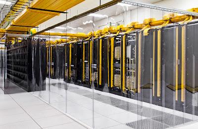 Google dedah pusat data