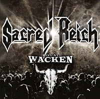 Sacred Reich - 'Live at Wacken' CD/DVD Review (Metal Blade)