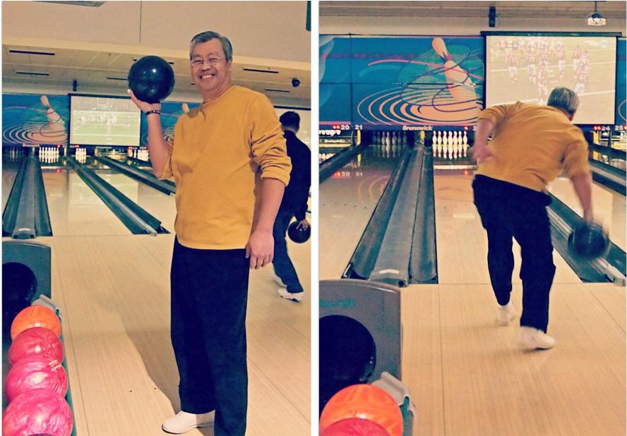 family bowling fun