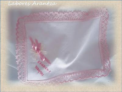 pañuelo de bautizo
