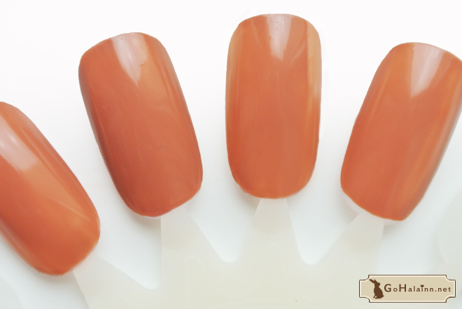 Etude House Ice Cream Nails BR401 Choco Review