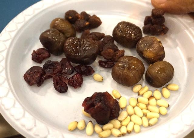 Pine Nut, Candle Nut dan Cranberries
