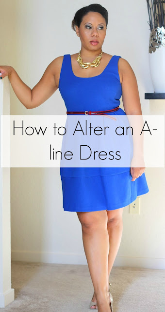 Curvy, Petite Outfit Ideas | Professional and Casual-Chic Fashion and Style Inspiration | How to Choose and Alter a Fit and Flair Dress