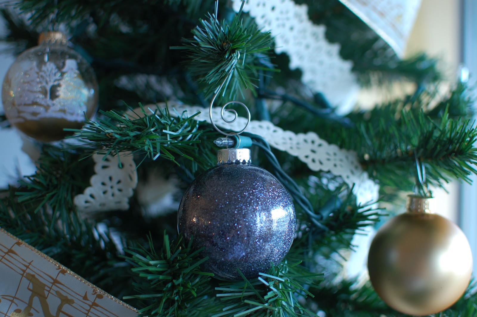 M And V Life So Far Do It Yourself Glass Christmas Tree