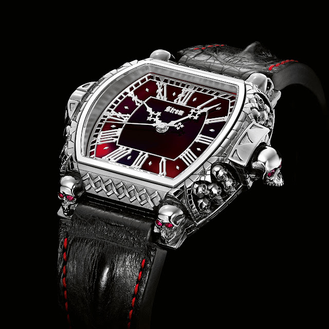 Strom Agonium Collection: Memento Mori, Carpe Noctem Watch