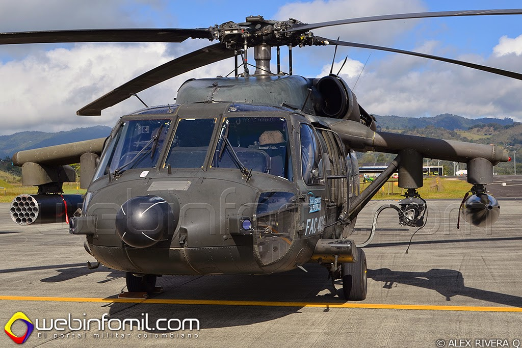 Arpia II Fuerza Aerrea colombiana